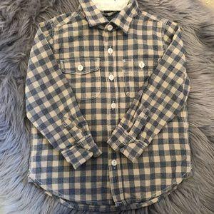 Baby Gap Chambray Long Sleeve Shirt